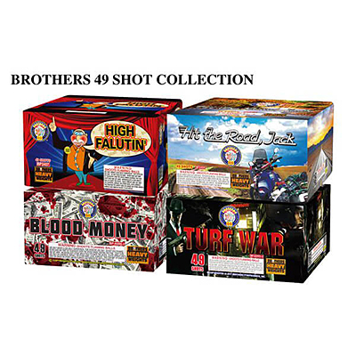 Brothers 49 Shot Collection (Case Price)