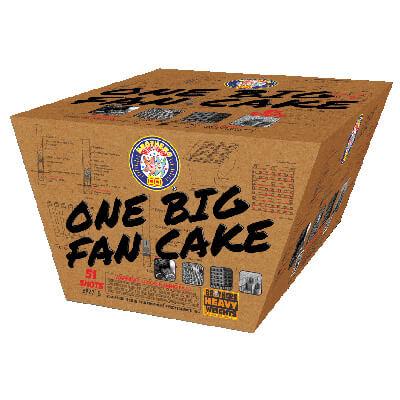 One Big Fan Cake